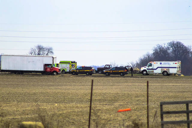 According to officials on the scene, a woman was thrown off an all-terrain vehicle behind the private property located on U.S. Route 127 and suffered head and/or possible neck and back injuries.