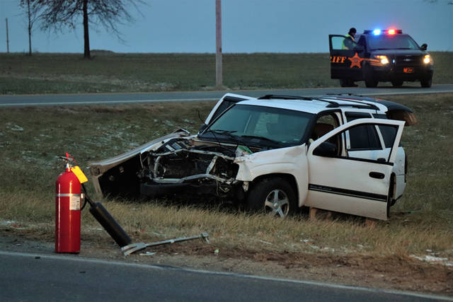 A woman from Union City, Indiana was killed in a two-vehicle crash Thursday morning when another driver failed to stop at a stop sign.