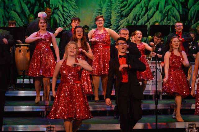 The Greenville High School vocal music holiday concert will be 7 p.m. Dec. 17 at Memorial Hall.