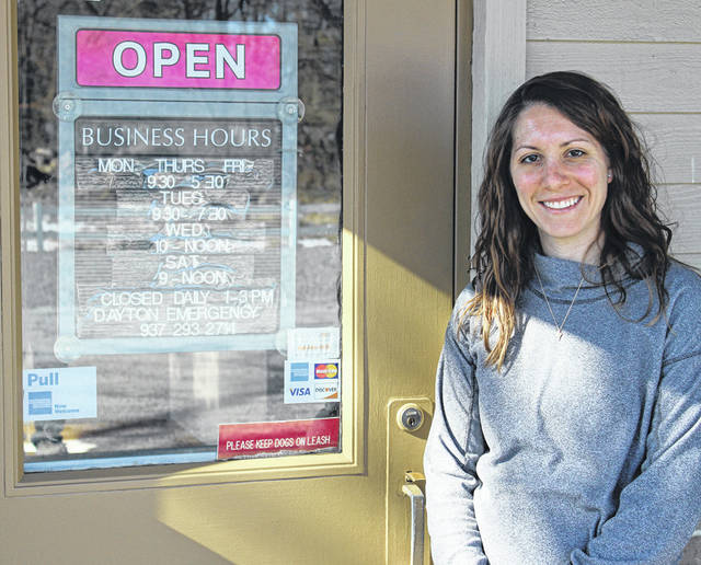 Dr. Jennifer Gerber is the new owner of Green Lawn Animal Clinic in Greenville, taking over from Dr. Robert Burns, who is retiring after 44 years.