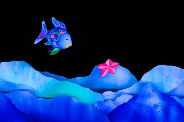 """Darke County Center for the Arts will present Mermaid Theatre of Nova Scotia's production of """"The Rainbow Fish"""" at 2 p.m. Feb. 10 at Henry St. Clair Memorial Hall in Greenville."""