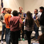 Lucky Chops engage young musicians at Edison State music education clinics