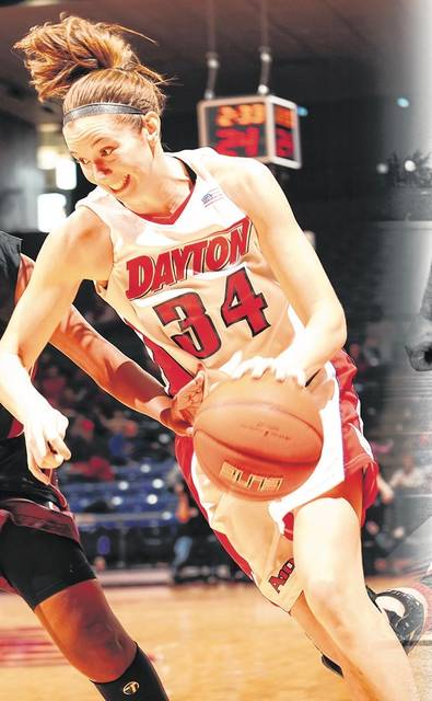 Photo Provided by University of Dayton Justine Raterman will be inducted into the University of Dayton Athletic Hall of Fame Sunday.