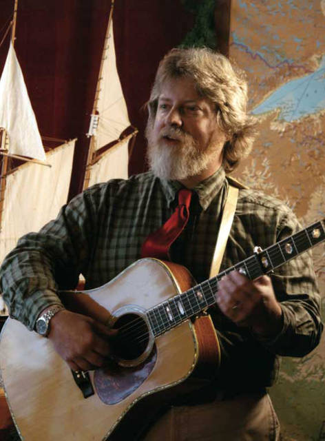 Troubadour Lee Murdock will share songs and stories revealing the history of the Great Lakes and the people who live, work and play around these freshwater highways with fourth- to sixth-graders in all local public schools March 4 through 8.