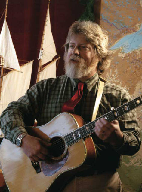 Great Lakes troubadour Lee Murdock will sing seafaring songs and share stories of ships that go down and ships that come in when he performs at Arcanum Historical Society's Wayne Trail House on March 7, a part of Darke County Center for the Arts' Coffeehouse Series.