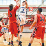 Connor Crist's 18 points leads Franklin-Monroe to sectional finals