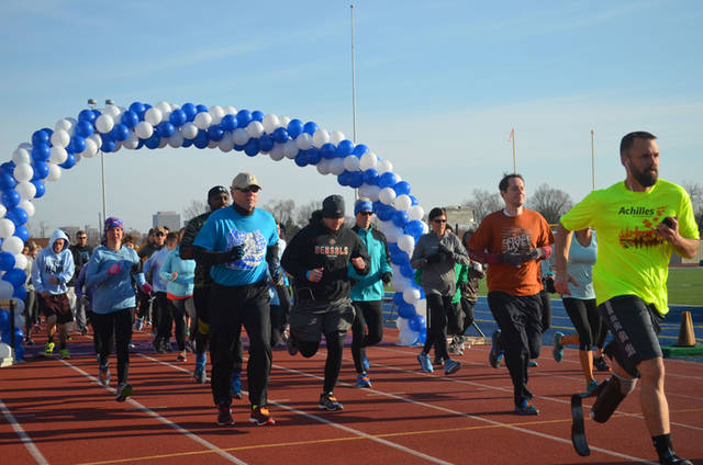 The 12th annual No Buts About It 5K will begin at 9 a.m. March 23 at Welcome Stadium in Dayton.