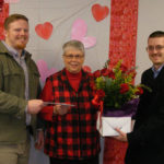 Sharon Deeter wins in Red Hot Valentine's Day Contest