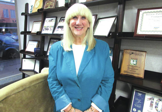 Susi Halley took over as director of the Greenville Public Library following the retirement of longtime director John Vehre.