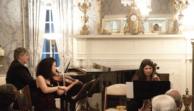 The Hayner's Drawing Room Chamber Concert will feature the international chamber group Tutti Solisti at 7:30 p.m. Tuesday.