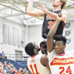 Versailles boys basketball season ends with loss to Purcell-Marian in D-III regional semifinals