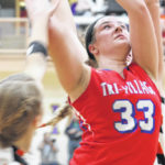 Tri-Village girls basketball team falls to Minster in OHSAA tournament