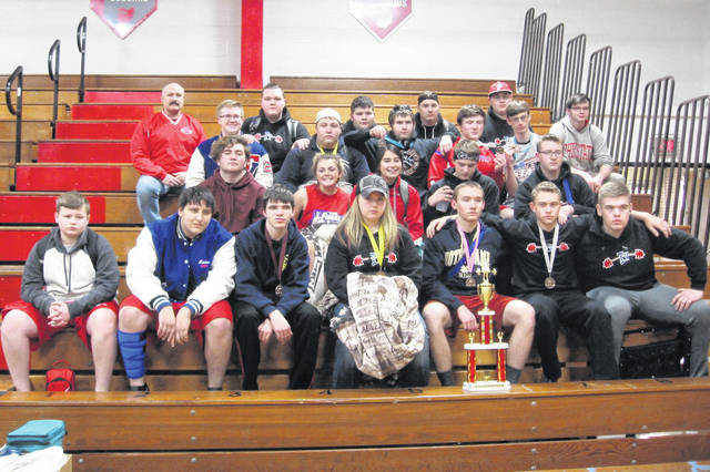 Tri-Village Power Lifting team participated in the Ohio High School State PowerLifting Meet in Divisions V, VI and VII.
