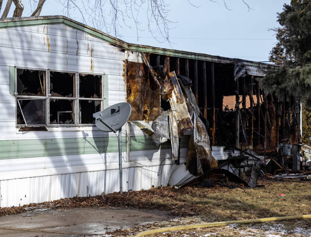 A couple were able to escape a fire that destroyed their home Friday morning in Ansonia.