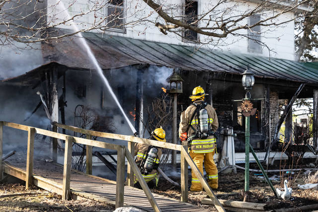 The Kennedy family home of Kennedy Vineyards and Big Rack Brewery was lost when a three-alarm fire broke out on the property.
