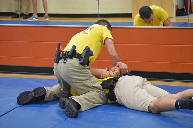Edison State Police Academy cadets train during the Ohio Peace Officer Training Academy to prepare for a career in law enforcement.