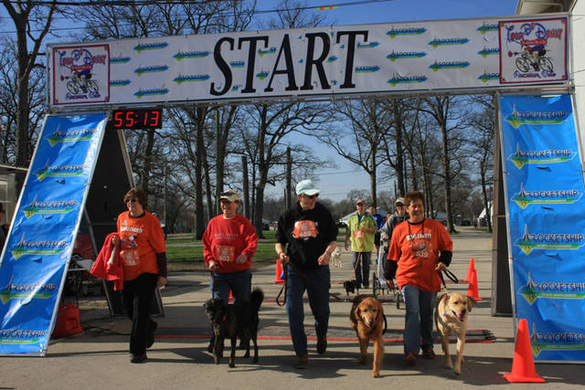 The sixth annual Scentral Park 5K for the Dog Park will start at 9 a.m. April 20 at the Darke County Fairgrounds.