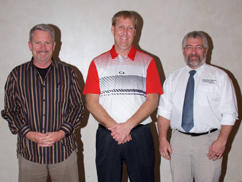 Eric Laux, Aaron Siefring and Tod Carroll were elected to represent the members of districts 1, 3 and 5 on the Darke Rural Electric Cooperative board of trustees.
