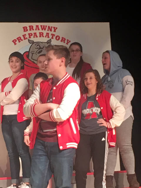 "Drama Club students at Arcanum Middle School will present ""School for Nerds"" at 7 p.m. Friday and Saturday."