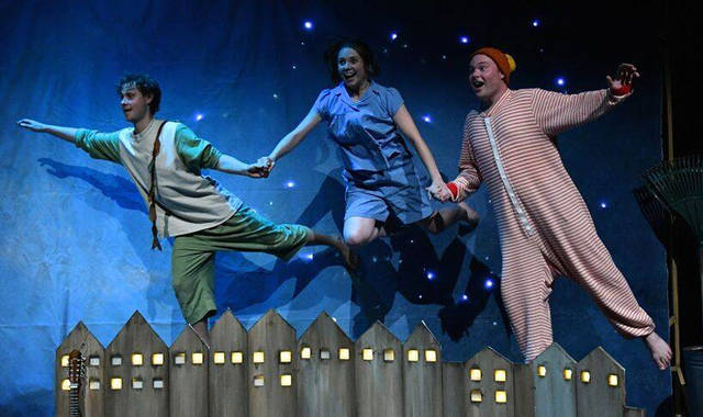 """Darke County Center for the Arts will present """"Underneath a Magical Moon,"""" a retelling of the Peter Pan tale from the perspective of an up-to-date Wendy Darling, on April 7 at Henry St. Clair Memorial Hall in Greenville."""