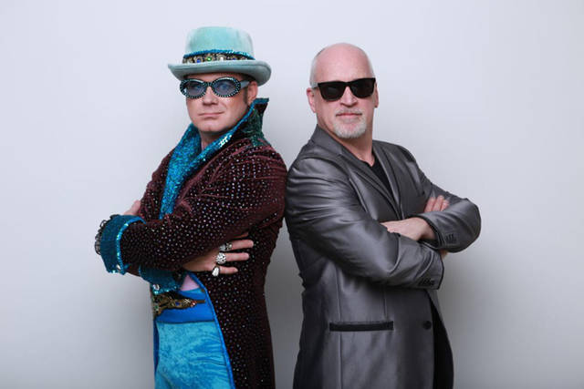 "Darke County Center for the Arts will present ""Piano Men: A Tribute to Elton John and Billy Joel"" on March 30 at Henry St. Clair Memorial Hall."