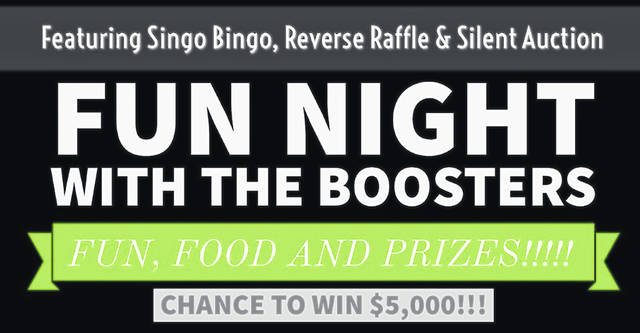 Greenville Athletic Boosters Fun Night Saturday, March 23 from 6-10 p.m. at Paws Bingo in Greenville.