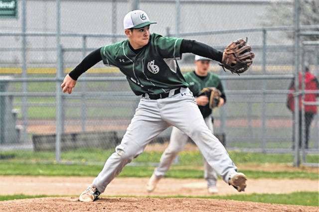 Kole Francis picks up a win for Greenville in run rule win over the Trotwood-Madison Rams.