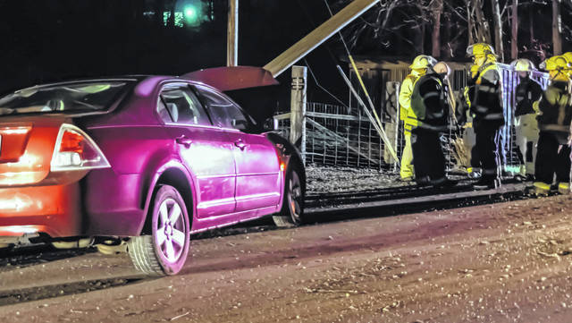 A teen driver avoided serious injuries after losing control of the vehicle she was driving on Pitsburg-Laura Road late Sunday.