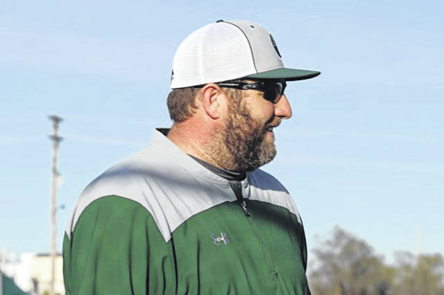 Greenville varsity baseball coach Eric Blumenstock leads the Green Wave baseball program.