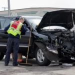 2-vehicle accident slows rush hour traffic