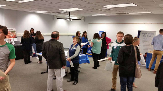 Students from Ansonia Local Schools, Franklin Monroe Local Schools, Greenville City Schools and Mississinawa Valley Schools participated in Darke County Economic Development's Senior Interview and Networking Event.