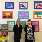 Elementary Art Exhibit on display at Greenville Public Library
