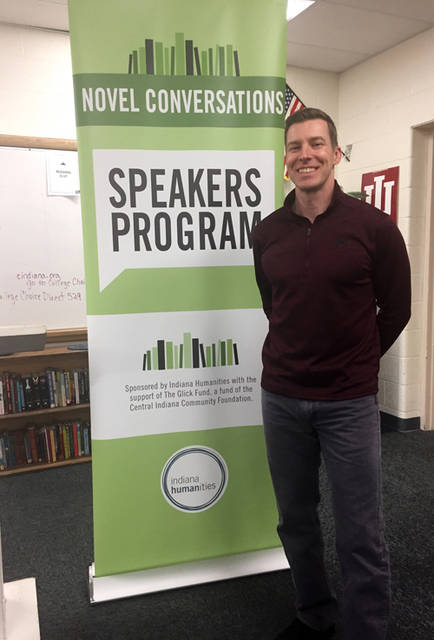 Union City Public Library hosted award-winning Indiana author Bryan Furuness for a writing workshop.