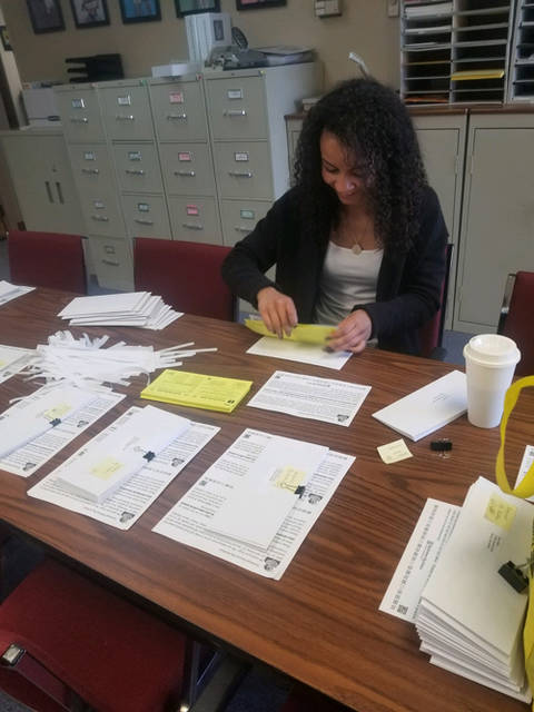 Khalia Free, of Piqua, volunteered her time with Big Brothers Big Sisters of Shelby & Darke County through Edison State Community College's Business Capstone Service Learning Initiatives Project.