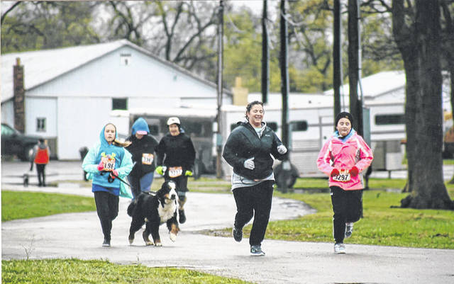 The sixth annual Scentral Park 5K was held to support Darke County's only dog park.