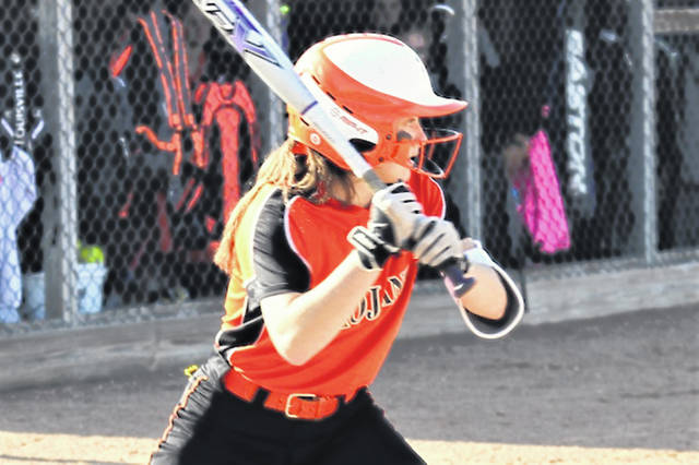 Arcanum's Eva Siculan takes a turn at the plate.