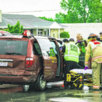 Minor injuries reported in Wagner Avenue accident