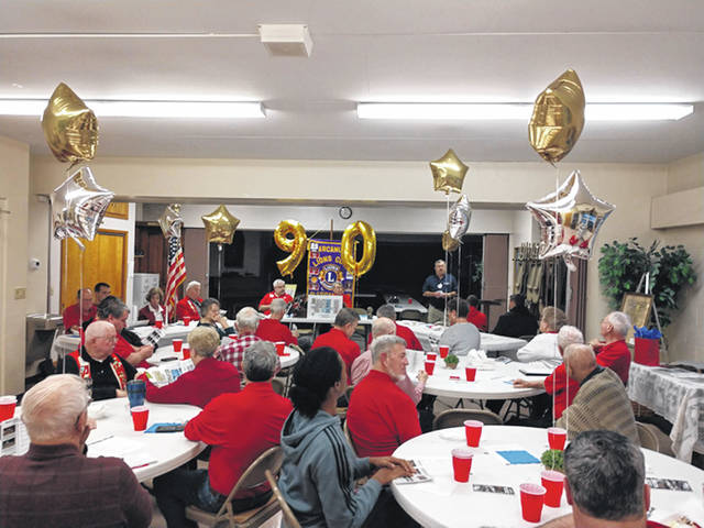The Arcanum Lions celebrated their 90th anniversary in March.
