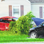 Teen driver injured in two-vehicle crash