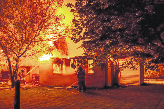 Union City family awakened by fire - Daily Advocate