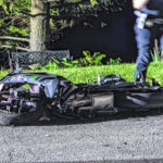 Cyclist CareFlighted after motorcycle accident