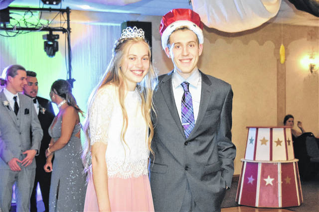 The Greenville High School Prom, Under the Big Top, was held Saturday, May 4. Crowned the 2019 Queen and King were seniors Marabelle Lance and Jordan Dill.