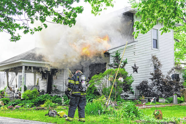 A 19th century home on Graw Road was lost to fire Tuesday morning.