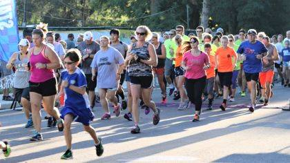 Over 400 runners are expected to be in town on Saturday for the YOLO Festival of Races.