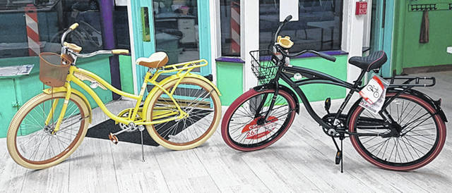 Shown are the two bikes the Greenville Boys & Girls Club is raffling.