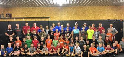 Shown are some of the Versailles wrestlers supported by Versailles Poultry Days.