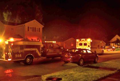 Crews responded to the scene of a shooting on Warrent Street early Monday morning.
