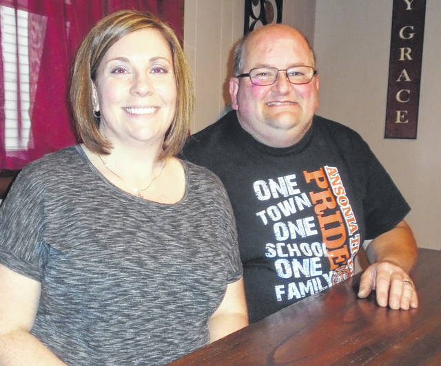 Stephanie and Ted Adkins are more than proud to serve their community by serving as grand marshals of the Ansonia Fourth of July Parade, which will take place July 6.