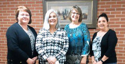 2019-2020 BPW Officers are Vicki Cost, Deb Smith, Karen Sink, and Kasey Christian.