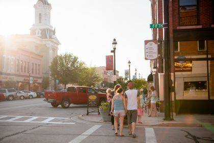 Main Street Greenville's July First Friday is set to be one of the largest of the year with a wide range of activities including live music, a water balloon toss, limbo, lawn games, and a free outdoor movie.